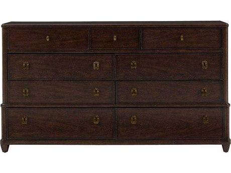 Stanley Furniture Virage Truffle Double Nine-Drawer Dresser