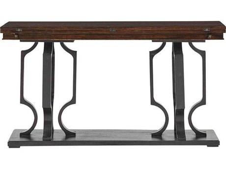 Stanley Furniture Virage Truffle 56''L x 16''W Rectangular Flip Top Console Table