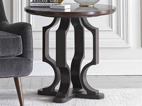 Stanley Furniture Virage Truffle 28'' Round Lamp Table