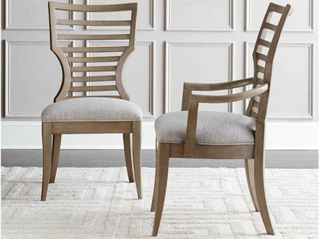 Stanley Furniture Virage Basalt Dining Arm Chair