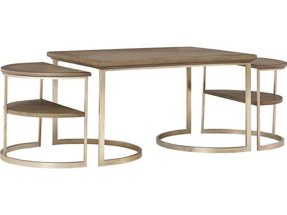 Stanley Furniture Virage Basalt 58 L X 26 W Oval