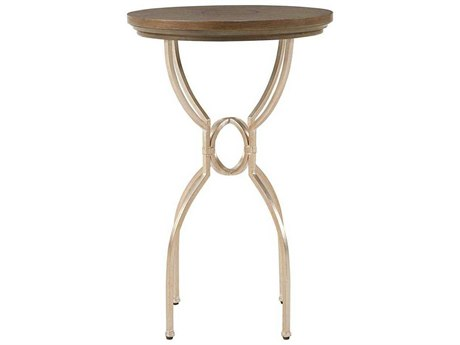 Stanley Furniture Virage Basalt 17'' Round Martini Table