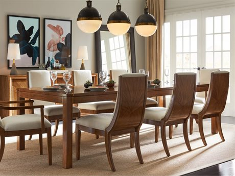 Stanley Furniture Panavista Goldenrod 84''L x 42''W Rectangular Archetype Dining Table