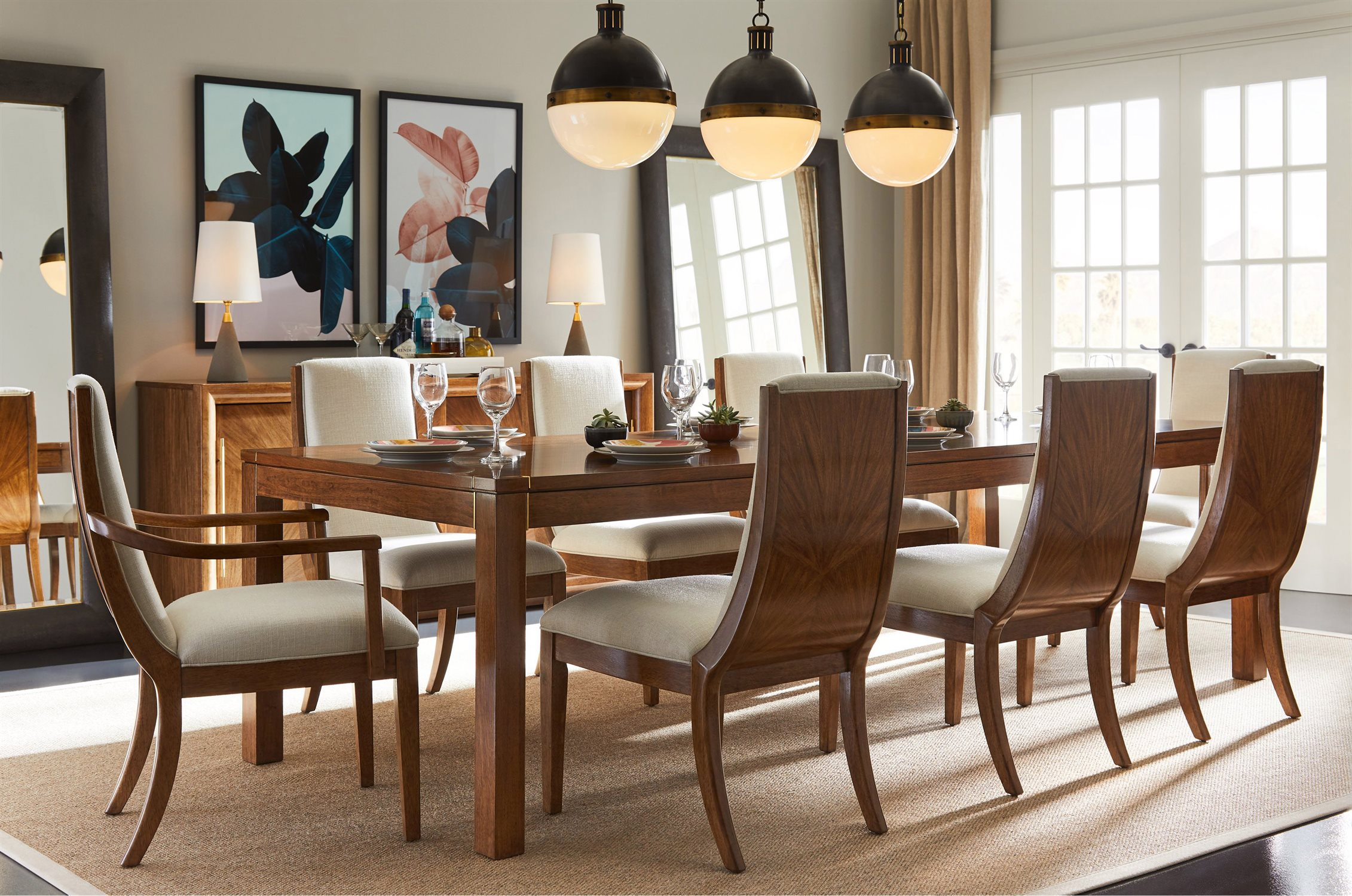 stanley dining room furniture | Stanley Furniture Panavista Goldenrod Dining Room Set ...
