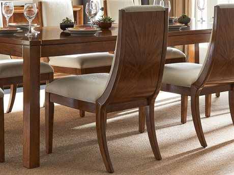 Stanley Furniture Panavista Goldenrod Madagascar Dining Side Chair