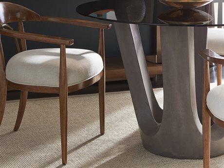 Stanley Furniture Panavista Goldenrod Studio Dining Arm Chair