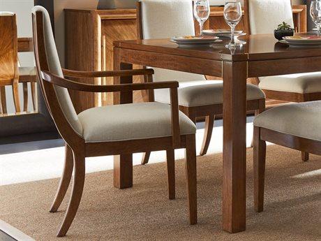 Stanley Furniture Panavista Goldenrod Madagascar Dining Arm Chair