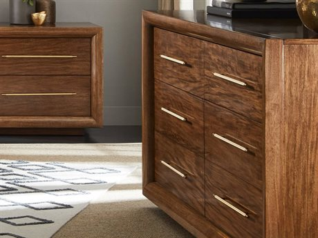 Stanley Furniture Panavista Goldenrod Panorama Double Dresser
