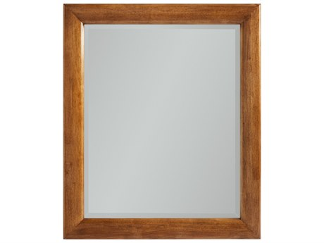 Stanley Furniture Panavista Goldenrod 38.5''W x 48''H Rectangular Panorama Portrait Mirror