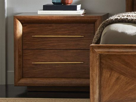 Stanley Furniture Panavista Goldenrod 30''W x 18''D Rectangular Panorama Nightstand