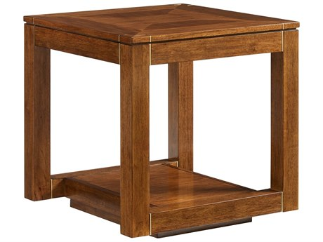 Stanley Furniture Panavista Goldenrod 25'' Square Floating Parsons End Table