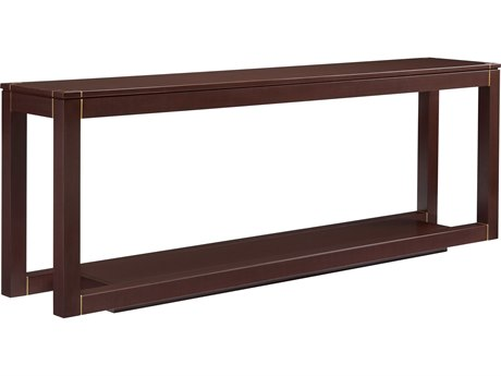 Stanley Furniture Panavista Garnet 82''L x 16''W Rectangular Floating Parsons Console Table