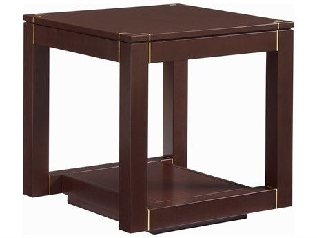 Stanley Furniture Panavista Garnet 25'' Square Floating Parsons End Table