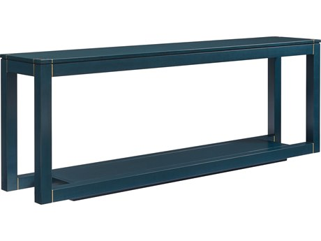 Stanley Furniture Panavista Oceanic 82''L x 16''W Rectangular Floating Parsons Console Table
