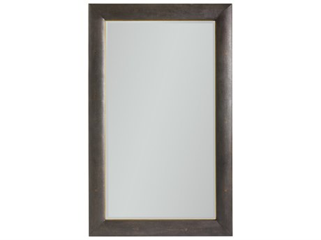Stanley Furniture Panavista Sable 46''W x 75''H Rectangular Panorama Floor Mirror