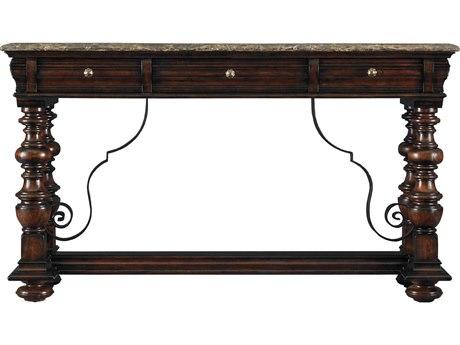 Stanley Furniture Costa Del Sol Cordova 72'' x 21'' Rectangular Pillars Of The Graces Serviceboard