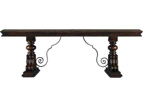 Stanley Furniture Costa Del Sol Cordova 132.5'' x 49'' Rectangular Palazzo Principale Marquetry Dining Table