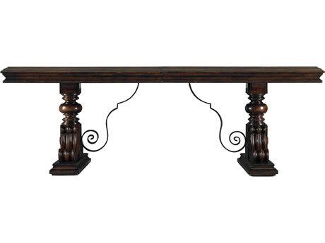 Stanley Furniture Costa Del Sol Cordova 132.5'' x 49'' Rectangular Palazzo Principale Marquetry Dining Table