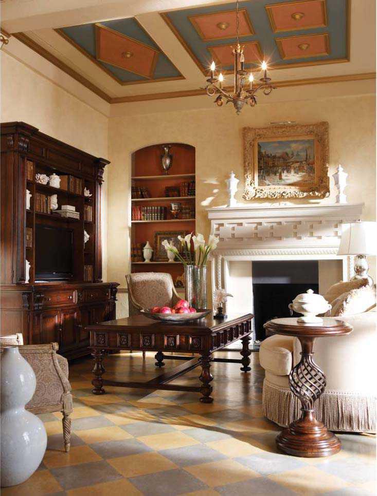 Stanley Furniture Costa Del Sol Cordova 61u0027u0027 X 44u0027u0027 Rectangular Sottotesto  Passage ...