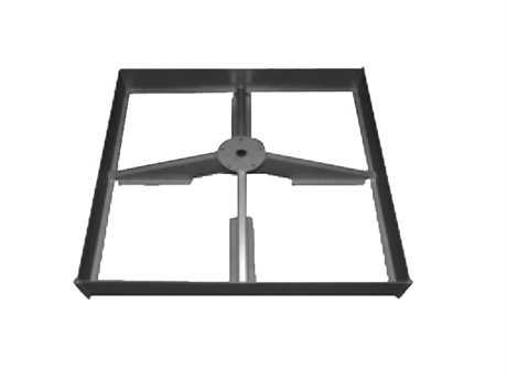 Shademaker Steel Base Frame For Shademaker Umbrellas Only