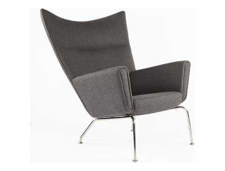 Stilnovo Hoffman Charcoal Accent Chair
