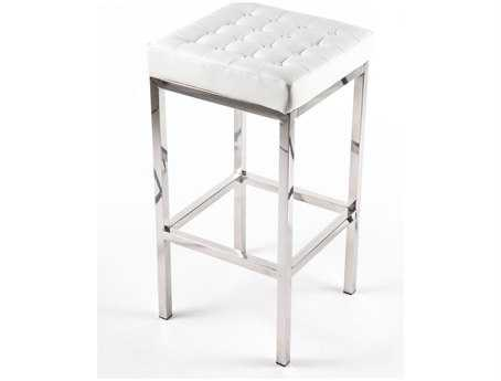 Stilnovo Florence Tufted White Stool