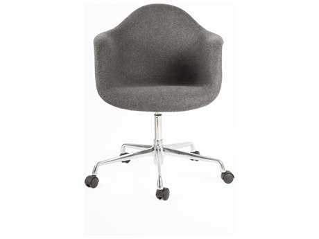 Stilnovo Mid-Century Eiffel Dark Grey Computer Arm Chair