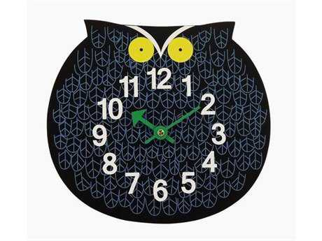 Stilnovo George Nelson By Verichron Zoo Timer Black Wall Clock