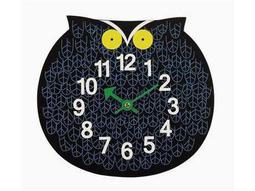 Stilnovo George Nelson By Verichron Zoo Timer Black Wall Clock