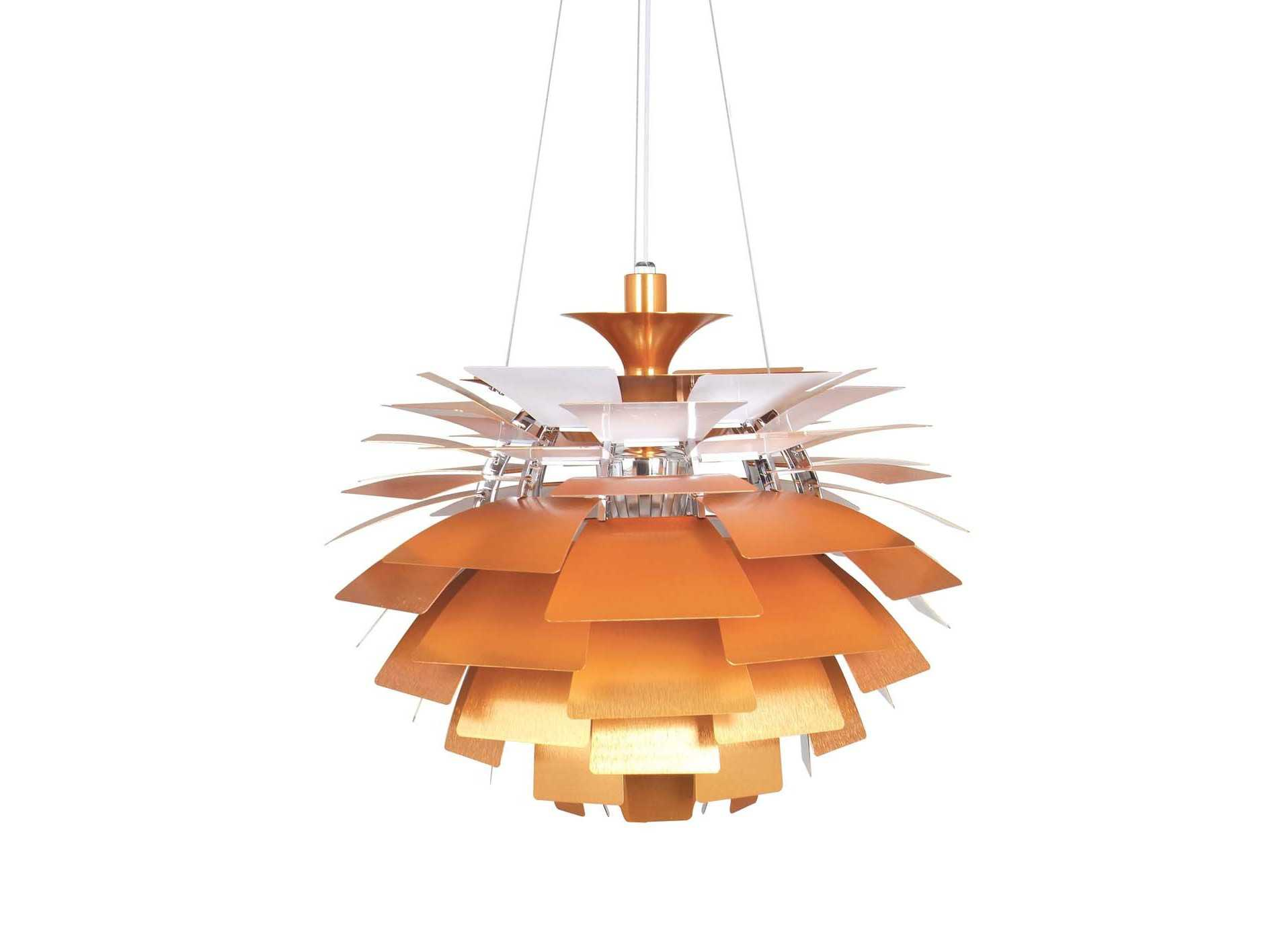 lighting designs for bedrooms stilnovo artichoke copper three light pendant ln15872copper 15872