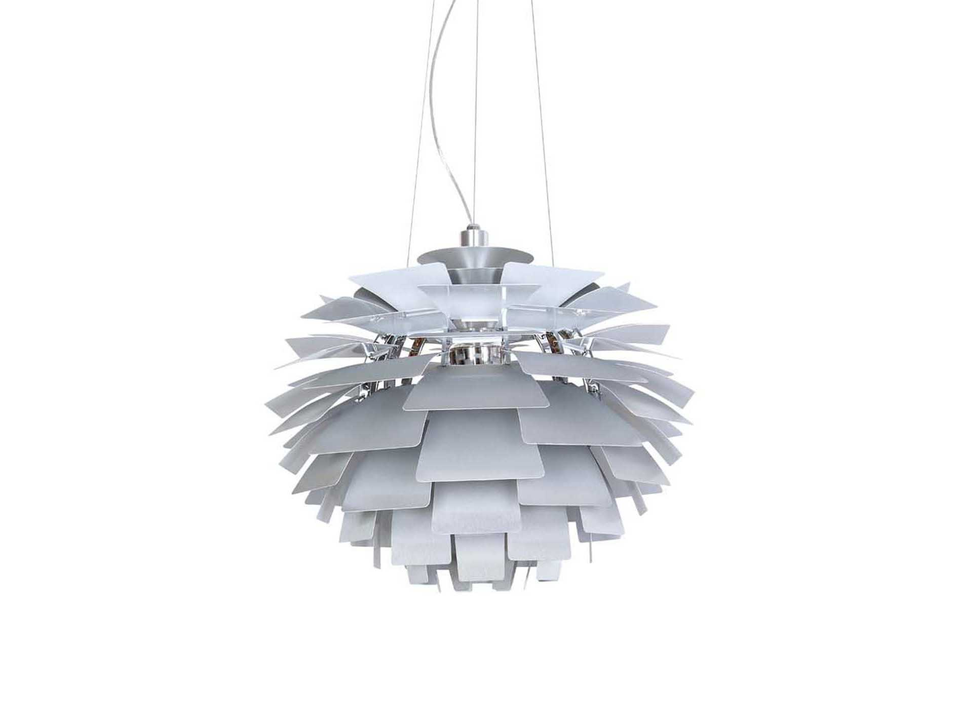 lighting designs for bedrooms stilnovo artichoke sliver three light pendant ln15872s 15872