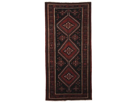 Solo Rugs Afshar Red 4'9'' x 9'7'' Rectangular Area Rug