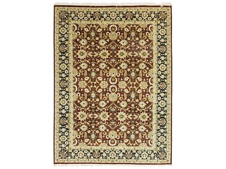 Solo Rugs Oushak Red 10'3'' x 14' Rectangular Area Rug