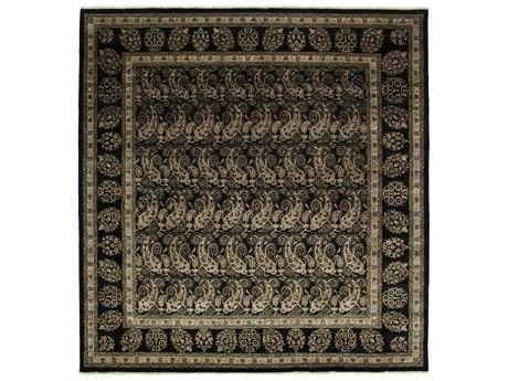 Solo Rugs Ottoman Black 8'1'' x 8'4'' Rectangular Area Rug