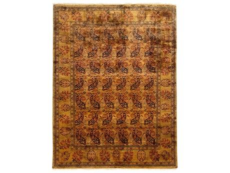 Solo Rugs Ottoman Yellow 6'1'' x 7'10'' Rectangular Area Rug