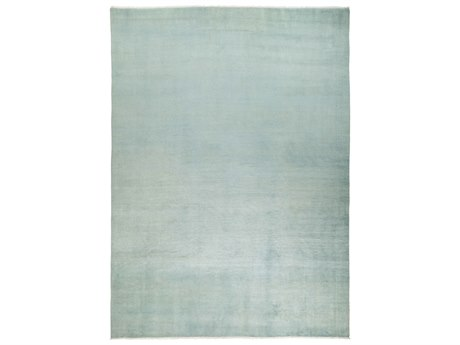 Solo Rugs Solids Blue 9' x 12'2'' Rectangular Area Rug