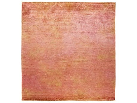 Solo Rugs Vibrance Pink 8' x 8'2'' Square Area Rug