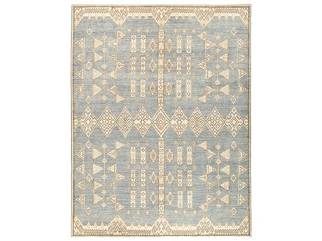 Solo Rugs African Blue 8'10'' x 11'7'' Rectangular Area Rug