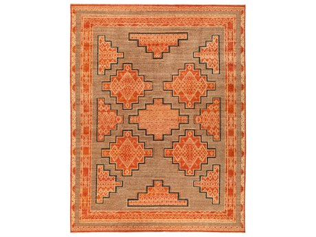 Solo Rugs African Red 9'1'' x 11'9'' Rectangular Area Rug