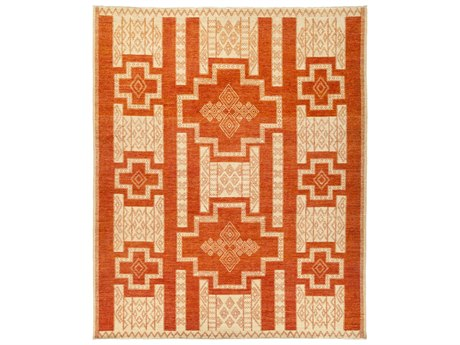 Solo Rugs African Red 8'2'' x 9'10'' Rectangular Area Rug