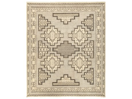 Solo Rugs African Gray 8'6'' x 10'2'' Rectangular Area Rug