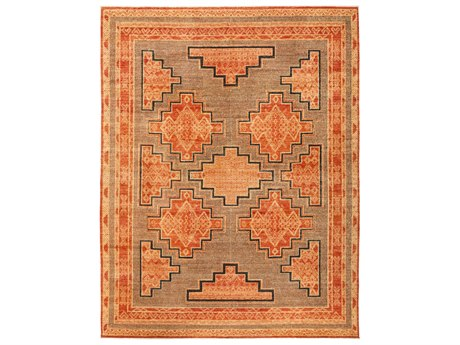 Solo Rugs African Red 8'2'' x 10'2'' Rectangular Area Rug