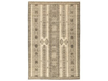 Solo Rugs African Gray 6' x 8'10'' Rectangular Area Rug
