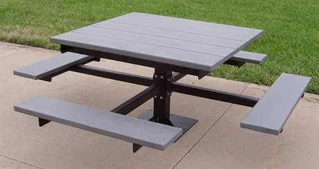 Frog Furnishings Steel T-Table