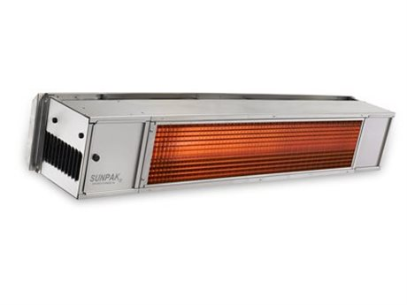 Sunpak 48 Inch Stainless Steel Two Stage Btu Heater (Hardwired)