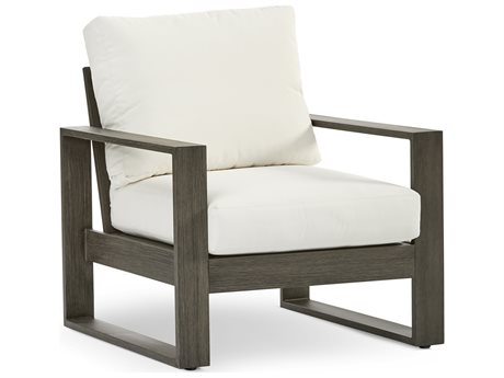 South Sea Rattan Ryan Aluminum Cushion Lounge Chair