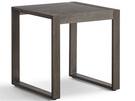 South Sea Rattan Ryan 24'' Wide Aluminum Square End Table