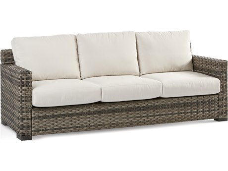 South Sea Rattan New Java Sandstone Wicker Cushion Sofa