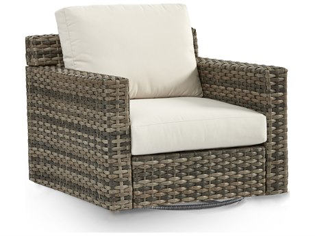 South Sea Rattan New Java Sandstone Wicker Cushion Lounge Chair