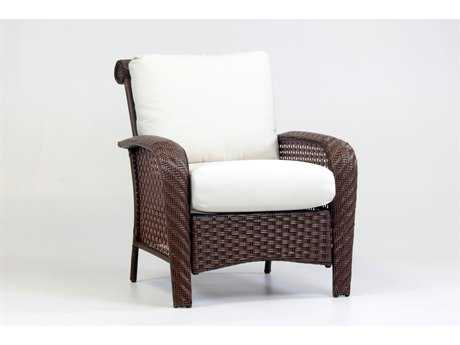 South Sea Rattan Martinique Wicker Lounge Chair